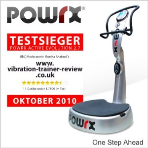 Die Active Evolution Vibrationsplatte von POWRX